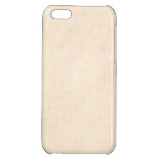 Vintage Neutral Parchment Beige Antique Paper Temp iPhone 5C Case