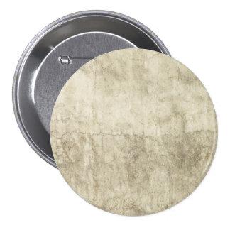 Vintage Neutral Plaster Paint Background Grunge 7.5 Cm Round Badge