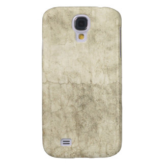 Vintage Neutral Plaster Paint Background Grunge Galaxy S4 Covers
