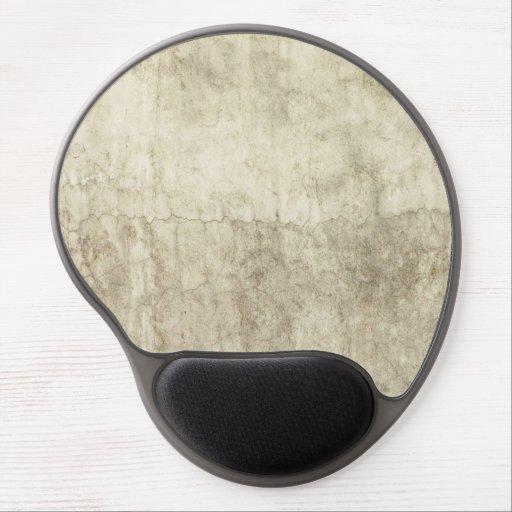 Vintage Neutral Plaster Paint Background Grunge Gel Mouse Mats