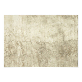 Vintage Neutral Plaster Paint Background Grunge 9 Cm X 13 Cm Invitation Card