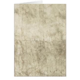 Vintage Neutral Plaster Paint Background Grunge Note Card