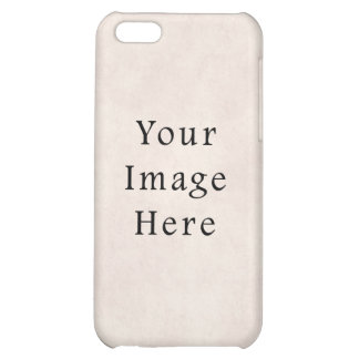 Vintage Neutral Rose Pink Parchment Paper Peach iPhone 5C Cases