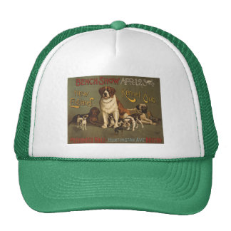Vintage New England Kennel Club Poster Hat