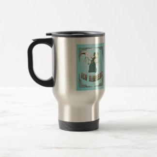Vintage New Hampshire State Map – Aqua Blue Mugs