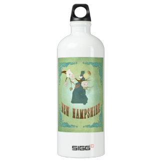 Vintage New Hampshire State Map – Sage Green SIGG Traveller 1.0L Water Bottle