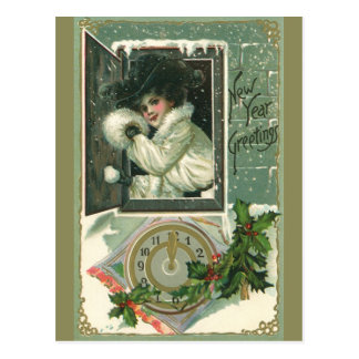 Vintage New Year s Postcard