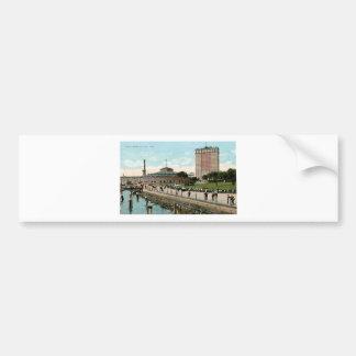 Vintage New York, Battery Park Bumper Sticker