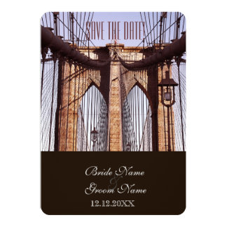 Vintage New York Brooklyn Bridge Card