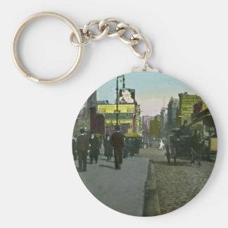 Vintage New York City 1900 Trolley Keychain