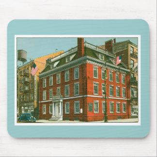 Vintage New York City Building Mousepads