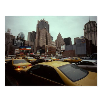 Vintage New York City DKNY sign Broadway @ Houston Postcard