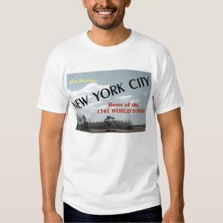 Vintage New York City Postcard T Shirts