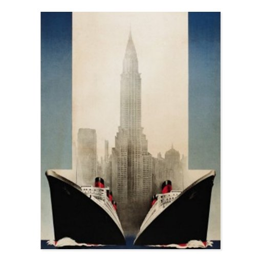 Vintage New York City, USA - Postcards
