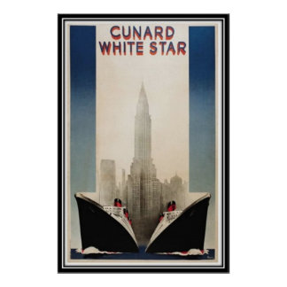Vintage New York City, USA - Poster