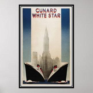 Vintage New York City, USA - Print