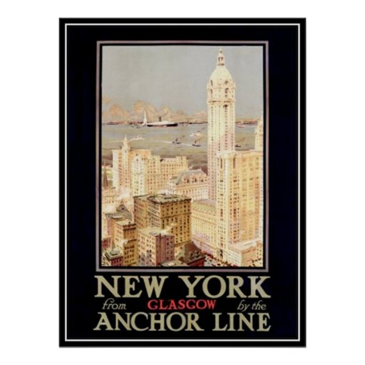 Vintage New York City, USA - Posters