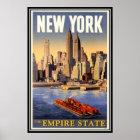 Vintage New York City, USA - Poster