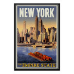 Vintage New York City, USA - Posters