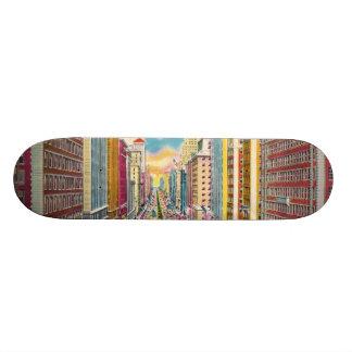 Vintage New York City, USA - Custom Skate Board