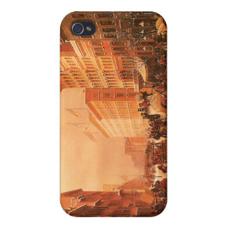 Vintage New York Firemen iPhone 4/4S Cover