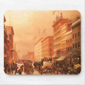 Vintage New York Firemen Mouse Pad
