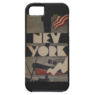Vintage New York Travel iPhone 5 Case