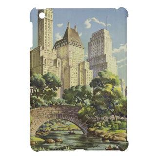 Vintage New York Travel Poster iPad Mini Cases