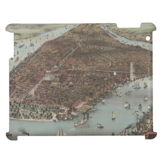 Vintage New York Waterfront Cover For The iPad