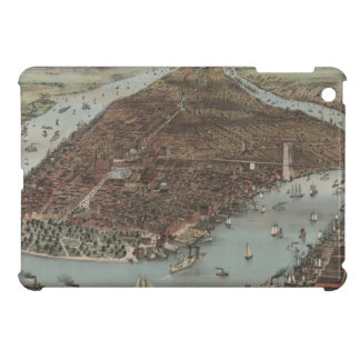 Vintage New York Waterfront Case For The iPad Mini