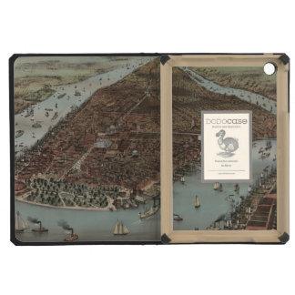 Vintage New York Waterfront iPad Mini Retina Cases