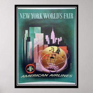 Vintage New York World Fair Print