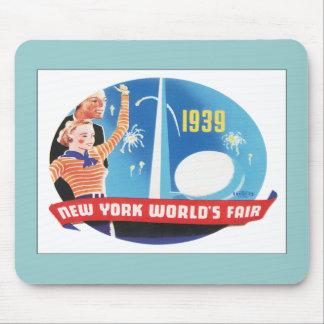 Vintage New York World's Fair Mouse Pad