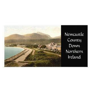 Vintage Newcastle, County Down Customized Photo Card