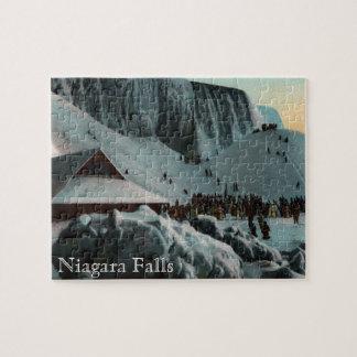 Vintage Niagara Falls Ice Puzzle