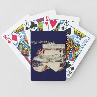 Vintage Niagara Falls Paintings Poker Deck
