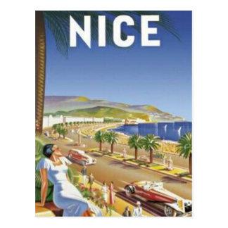 Vintage Nice, France - Postcard