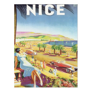 Vintage Nice France Postcards