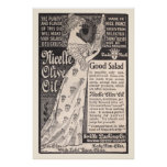 Vintage Nicelle Olive Oil Ad from 1899 Poster