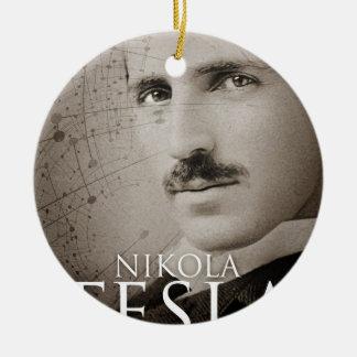 Vintage Nikola Tesla photo Christmas Ornament