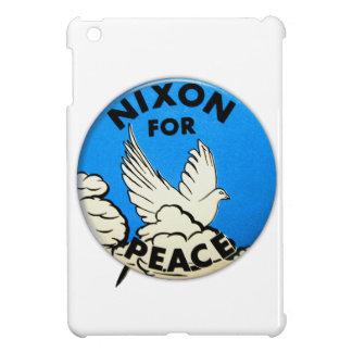 Vintage Nixon For Peace Button iPad Mini Cover