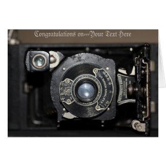 Vintage No1 Pocket Camera Card
