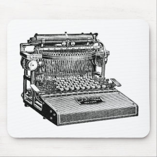 Vintage No. 4 Caligraph Writing Machine, Mouse Mat
