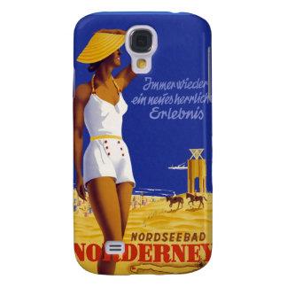 Vintage Norderney Germany Galaxy S4 Case