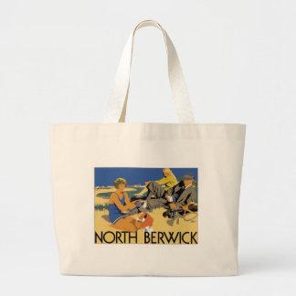 Vintage North Berwick Jumbo Tote Bag