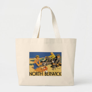 Vintage North Berwick Large Tote Bag