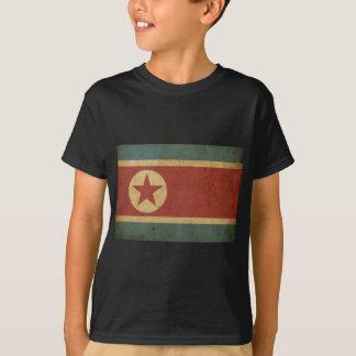 Vintage North Korea Flag T-Shirt
