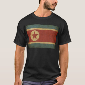 Vintage North Korea Flag T-Shirt
