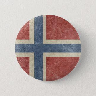 Vintage Norway 6 Cm Round Badge