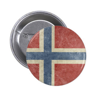 Vintage Norway Pinback Button